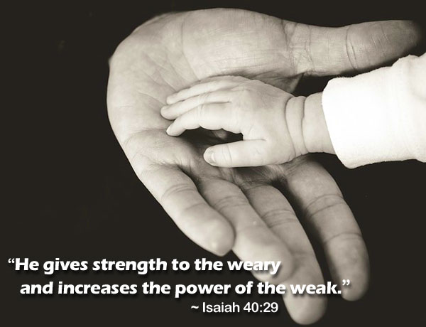 Gives Strength To The Weary